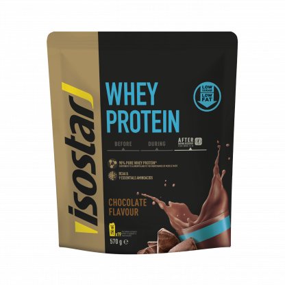 Baltymų milteliai Whey Protein BCAA Recovery Chocolate 570g